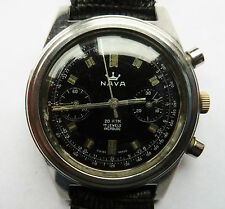 Superb Gents Nava 200M DIVE Chronograph SS LAN 248 Watch Serviced Warranty