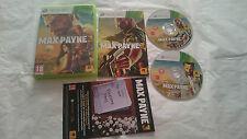 JUEGO COMPLETO MAX PAYNE 3 PAL MICROSOFT XBOX 360 ESPAÑA. BUEN ESTADO.
