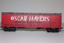 HO Train Miniatures Oscar Mayers Billboard 40' Single Plug Reefer 6876  Y1509