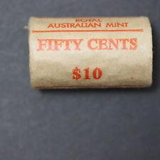Australia 1 x 1982 (Commonwealth Games) RAM ROLL of 50c Coins UNC (MG42/C2)
