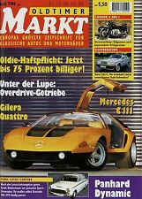 Markt 7/94 1994 Condor A 580-I Ford Lotus Cortina Moretti Vespa 400 Volvo 262 C