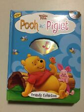 Pooh & Piglet Winnie The Pooh Book and Audio CD, Pre-owned