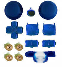 PS3 Replacement Mod Kit + Gold Bullet Action Buttons for Playstation 3 Shell
