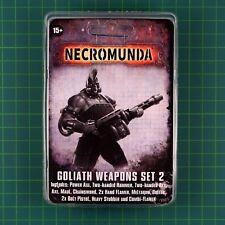 Goliath Weapons Set 2 Necromunda Underhive Forge World