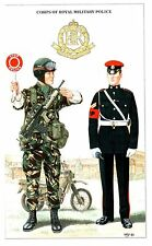 Postcard Military Uniforms Corps of Royal Military Police 19