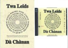 Twa Leids - Dà Chànan Scots Poetry in Scots and Gaelic  book + CD