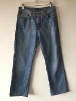 Lucky Brand Jeans Rider Fit Relaxed Women's Size 10 / 30 Long Meas. 32 x 30