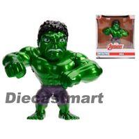 """Jada 4"""" MetalFigs Hulk Avengers Marvel Movie Figure 97562 Metals Diecast New"""