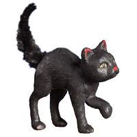 Bethany Lowe Scaredy Black Cat Retro Vntg Halloween Fall Home Decor Figurine