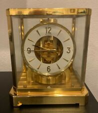 1970s LeCoultre Atmos Mantle Clock Caliber 528-8 Serial #257756 Works 15 Jewels