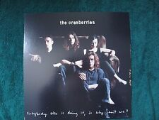 ORIGINAL VINTAGE 1993 Promo Poster Flat Cranberries Everybody 2-SIDES NMINT