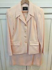 NEW!! Ladies 2 Piece Suit Coat / Blazer & Skirt Peachy Pink Size 10 Petite  NWT