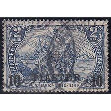 Deutsche Post Türkei Nr. 21 II I gestempelt geprüft