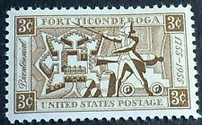 US Scott 1071- Fort Ticonderoga Bicentennial 1755-1955- 3c MNH OG F-VF