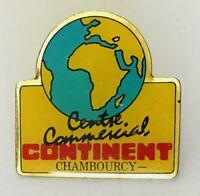Centre Commercial Continent Chambourcy Pin Badge Advertising France Vintage (C3)