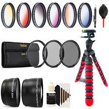 52mm Top Deluxe Lens Kit + Tripod for Nikon D5300 D5200 D5100 D5000 D7000