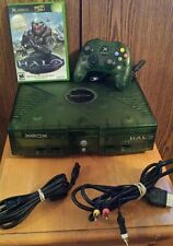 Halo Combat Evolved Limited Edition Green Original Xbox Console and Game