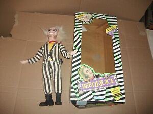 1989 Kenner BEETLEJUICE Talking Figure, works, in BOX
