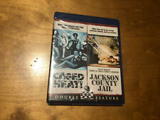 Caged Heat! & Jackson County Jail Blu ray*Scream Factory*1000 Made*Sealed/NEW*