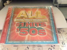 ALL #1 HITS OF THE 50s (NEW 2 CD SET, 2007, Sony/BMG)