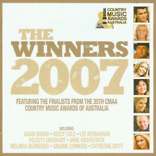 THE WINNERS 2007 (2 CD SET) (2007) 094637817421 AUSTRALIAN COUNTRY MUSIC AWARDS