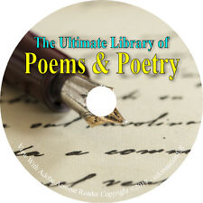 308 Vintage Books on DVD, Ultimate Library on Poems & Poetry