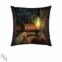 Light Up Cat Cushion Witching Hour by Lisa Parker