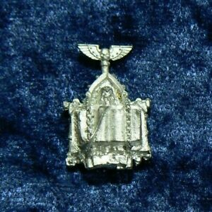 Warhammer 40k Space Marine Upgrade Reliquary Back Pack Icon Metal OOP