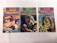 BERNI WRIGHTSON - 3 Issues - No. 1, 2 And 3