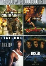 Condemned/Bloodsport/Lock Up/Ticker [3 Discs] (2010, DVD NEUF) WS