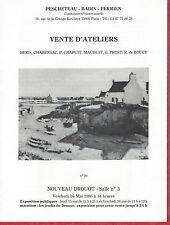 Catalogue tableau Atelier Gaston Prost Robert de Roucy Pierre Chapuis Beris