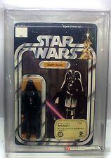 Vintage Star Wars DARTH VADER 12 Back-B AFA 80 TAKARA STICKER unpunched, RARE!