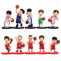 Anime Slam Dunk PVC Action Figures Dolls Boys Toys Doll 10pcs/set PH93 collect