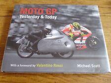 MOTO GP YESTERDAY & TODAY MOTORBIKE BOOK