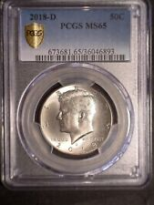 2018 D Business Strike PCGS MS 65 PCGS#3604893 clean coin Problem Free Eye Appea
