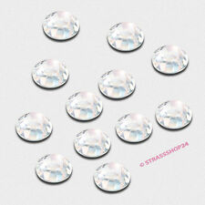 Pedrería HotFix rhinestones 50 unidades Crystal ø4mm
