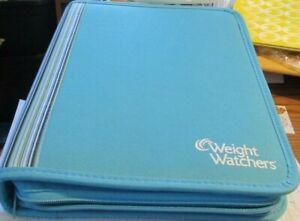 WEIGHT WATCHERS BINDER-BLUE