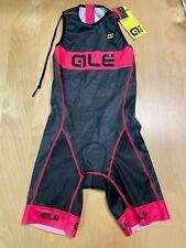 Alé Cycling Record Triathlon Skinsuit Back Zipper - Pink/Black - Women's Small