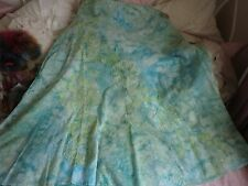 Per Una Multi green skirt size 14R
