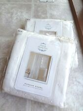 """Simply Shabby Chic (60""""x84"""") Sheer Window Panels (lot of 2) Free Shipping"""