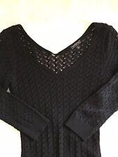 WOW Couture Women's Top Blouse quarter sleeve L03E L LG Large Grande Mesh Net
