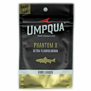 Umpqua Phantom X Nylon/Fluoro Euro Nymph Leader 20'
