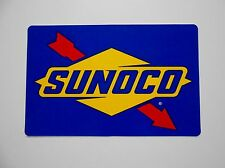 SUNOCO STICKER DECAL 260 GAS STATION FUEL OIL PETROLINA PUMP CAN NHRA RACING