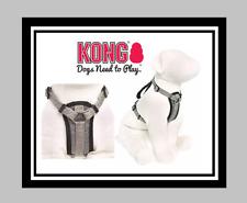 KONG COMFORT PADDED DOG HARNESS M MEDIUM GRAY