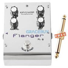 Biyang Tonefancier FL-8 Electric Guitar Bass Flanger Effect Pedal True Bypass