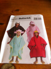 Butterick Cover-up Easy Outfit paper sewing pattern. New and Uncut 4381 one size