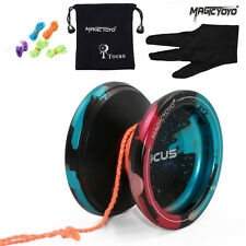 MagicYoYo ResponsIve V6 Locus Spase Yo-Yo Ball Bearing Kids yoyo +Glove+5 String