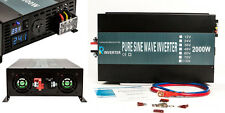 EMC CE approved 24V to 240V 50HZ 2000W Off Grid Pure Sine Wave Home Use Inverter