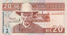 Namibia 20 Dollars (2002) Pick 6 UNC