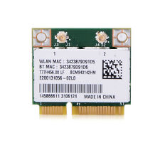 BCM943142HM Wireless 802.11n 300M Bluetooth 4.0 Half Mini PCI-E WIFI Card CGYG